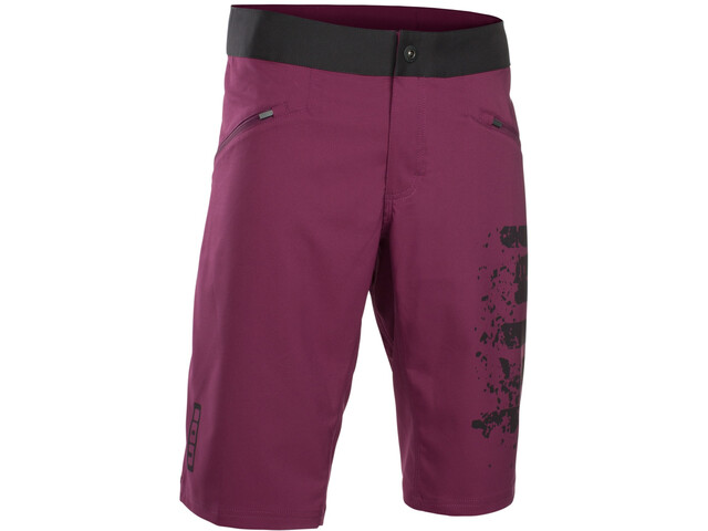 ION Scrub Bike Shorts Herren pink isover